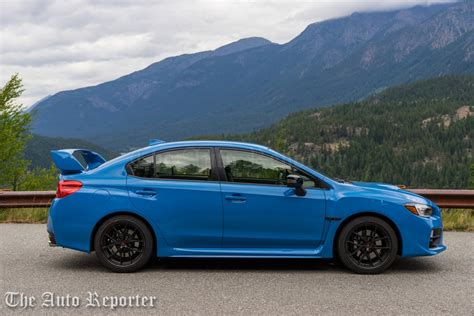 subaru sti 2016 subaru wrx sti review the auto reporter