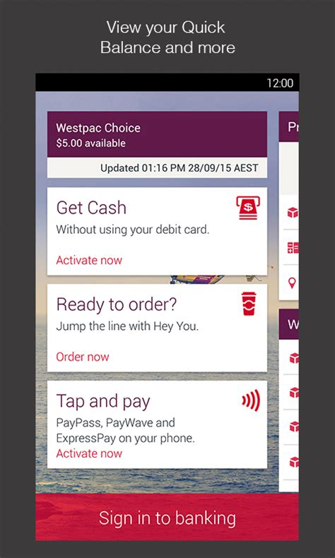 westpac banking mobile westpac mobile banking android apps on play