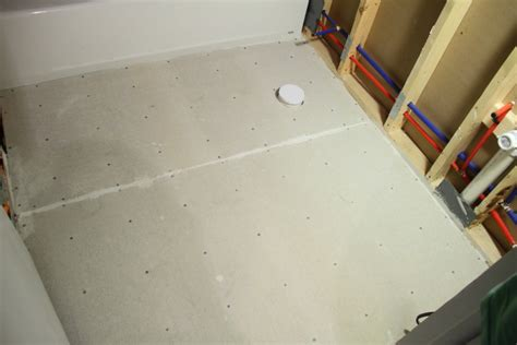 preparing bathroom floor for tiling preparing the bathroom floor for tiling blog