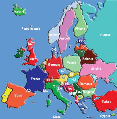 europe map pics news tourism world map of europe travel pictures