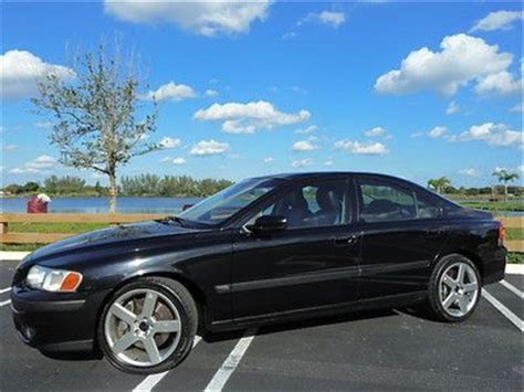 purchase used 04 volvo s60 r awd warranty manual