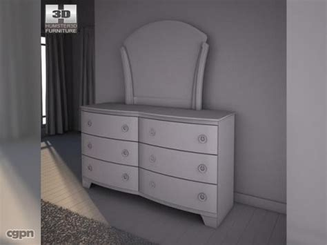 pinella bedroom set ashley pinella sleigh bedroom set 3d model cgstudio