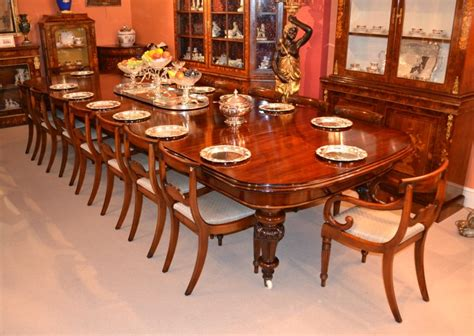 wohnzimmereinrichtung vintage antique 15ft dining table c 1860 16 chairs