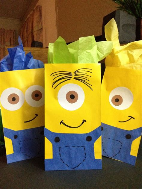 how to make minion favor bags 27 best images about despicable me on pinterest minions
