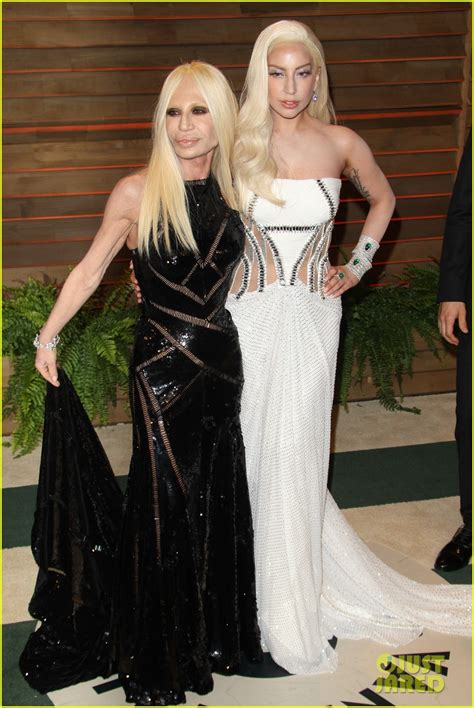 Bites Donatella Versace by Donatella Versace Gaga Oscars Www Pixshark