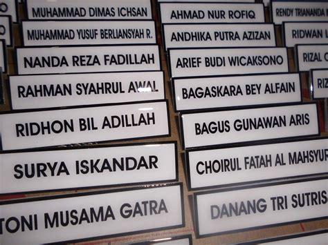 Bordir Nama Dada mnyediakan menjual membuat nama dada name tag nama