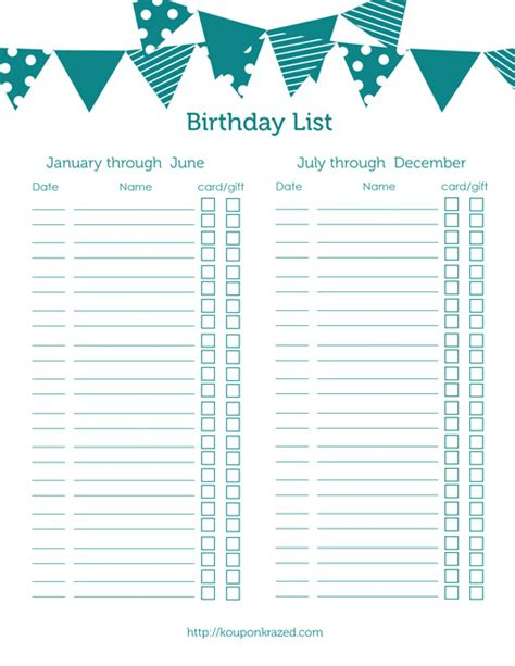 printable birthday party reminder cards free printable birthday reminder list calendar template 2016
