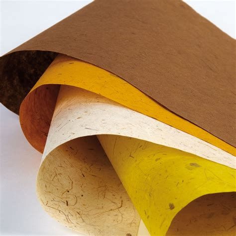 Handmade Banana Paper - advanced and papermaking techniques