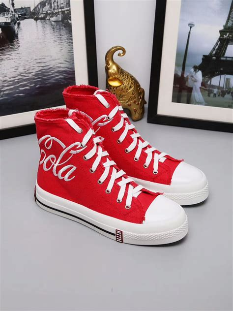 coca cola slippers cheap converse x coca cola high tops shoes in 301420 for