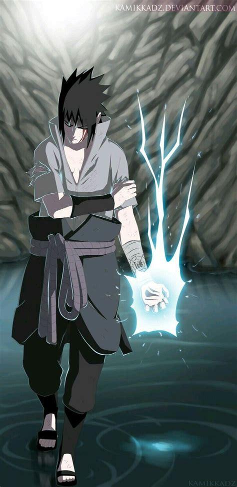 gambar sasuke cool style