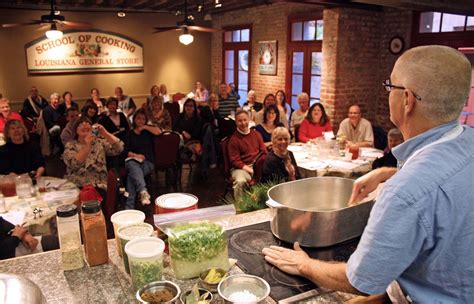 new school of cooking gonola tops learn to cook new orleans style