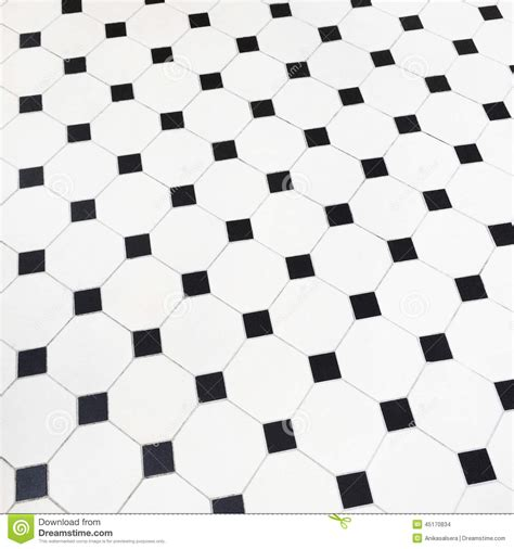 Black And White Ceramic Floor Tile Black And White Ceramic Tiles Floor Stock Photo Image Of Diagonal Pattern 45170834