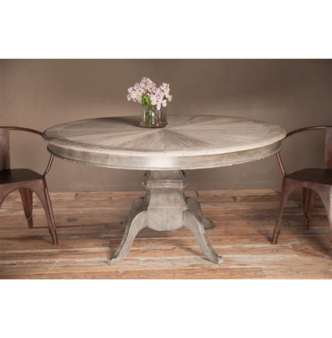 Reclaimed Elm Wood Dining Table Reve Country Reclaimed Elm Wood Dining Table Kathy Kuo Home
