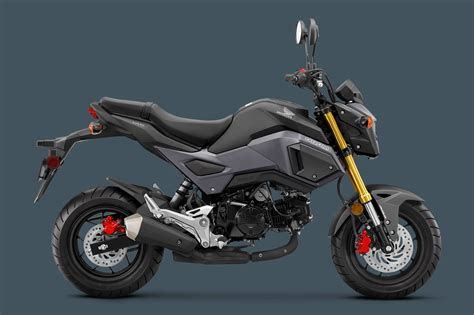 Honda Grom 2020 by 2018 Honda Grom Abs Adds Increased Safety To Your Gromance