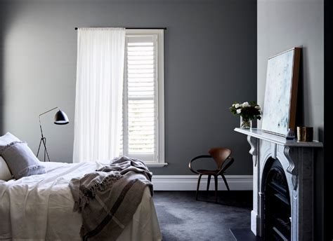 popular grey bedroom dulux paint colours grey popular