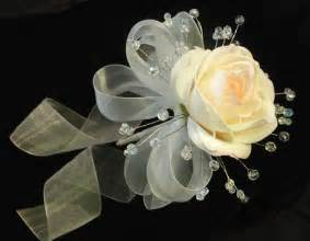 Wired Ribbon Flowers - crystal bouquet swarovski crystal wedding bouquets