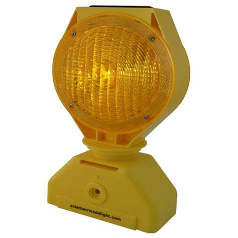 Battery Operated Barricade Light Solar Barricade Lights