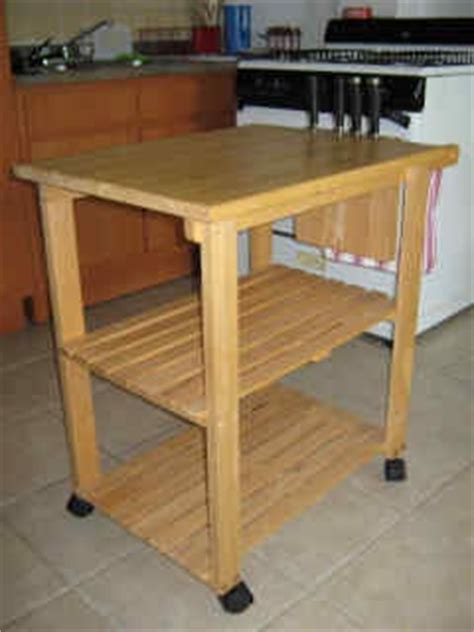Kitchen Utility Cart Solid Beechwood Kitchen Utility Cart Solid Beechwood Woodworking