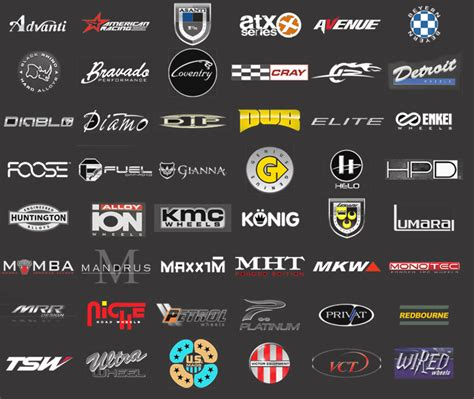 Handmade Car Brands - wheel brand logos clipart library