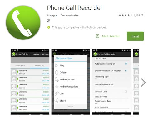 phone call recording app for android top 10 auto call recorder apps for android andy tips