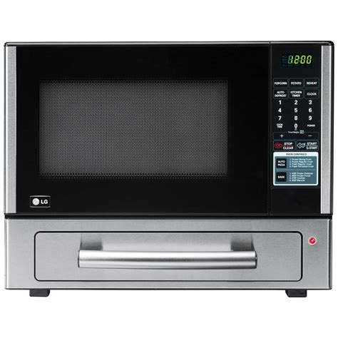Lg Microwaves Countertop by Lg Electronics 1 1 Cu Ft Countertop Microwave Pizza Oven In Stainless Steel Lcsp1110st The