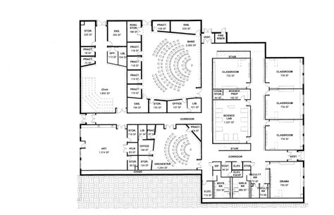 middle school floor plans beautiful middle school floor plans pictures flooring
