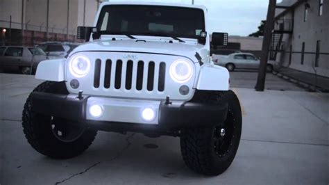 jeep lights oracle lights on jeep wrangler