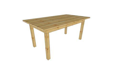 tisch selber bauen einfach holz tisch selbst gebaut bauanleitung holztisch