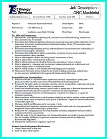 cnc machinist programmer cover letter resume format