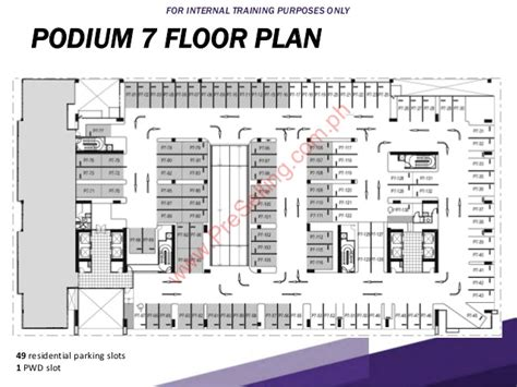 podium floor plan callisto tower 1 project presentation