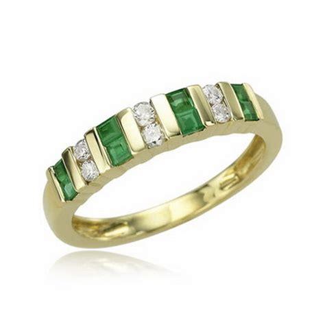 emerald wedding rings yellow gold luxury miracle wedding
