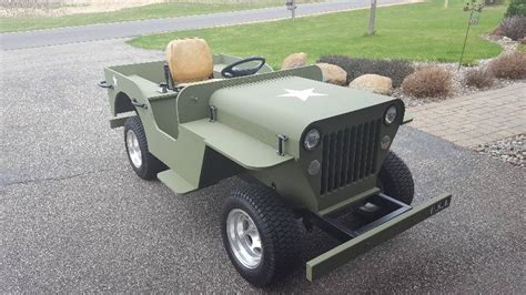 jeep golf carts willys style wwii jeep golf cart utility vehicle k bid