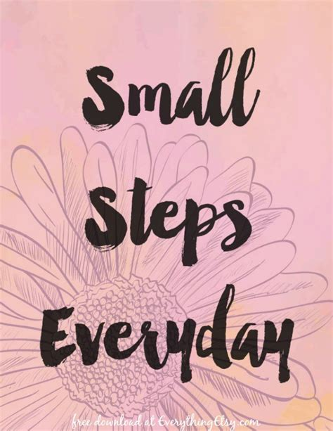 small steps small steps quotes like success