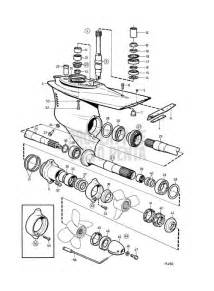 Volvo Outdrive Parts Volvo Penta Exploded View Schematic Lower Gear Unit 872764 Marinepartseurope