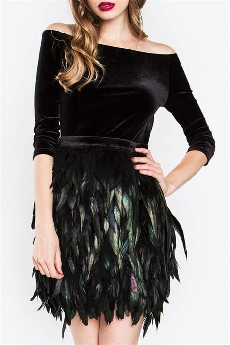 Dress Feather sugar feather dress from new york by shoptiques