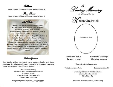 Funeral Obituary Templates 5 obituary template word teknoswitch
