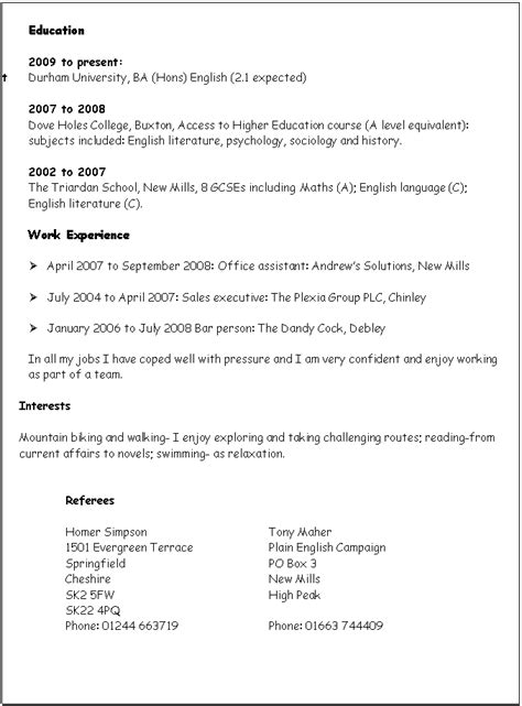 Technical Proficiency Resume Examples by Cvs And Applications