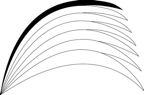 Black And White Rainbow Outline - Free Clipart Images ... Rainbow Clipart Outline