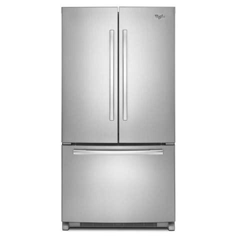 Wrf540cwbm Whirlpool 36 Quot 20 Cu Ft Counter Depth French Cabinet Depth Refrigerators Door