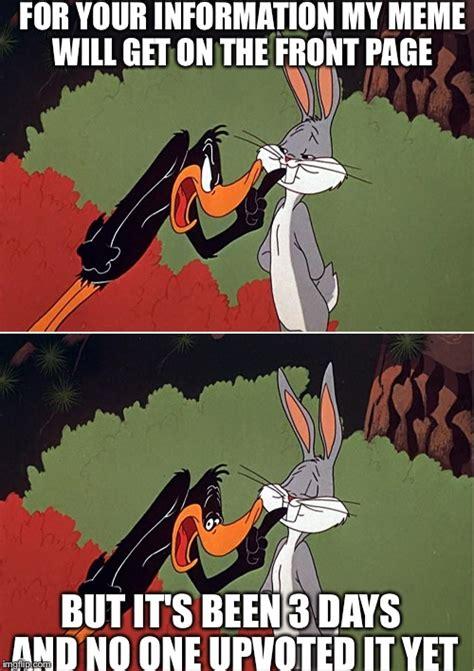 Daffy Duck Meme - daffy duck shuts up imgflip