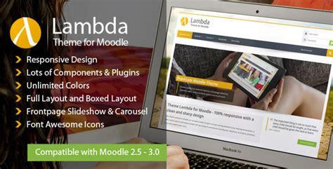 Themeforest Lambda | themeforest lambda responsive moodle theme scripts