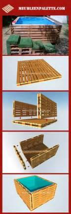 projette pour construire une piscine avec palettesmeuble