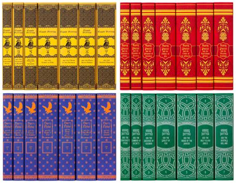 hogwarts house colors you can now buy hogwarts house themed quot harry potter quot books