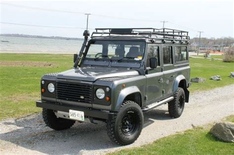 how to sell used cars 1986 land rover range rover electronic valve timing buy used 1986 land rover defender in jamestown rhode island united states for us 38 000 00