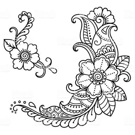 henna tattoo template henna patterns template makedes