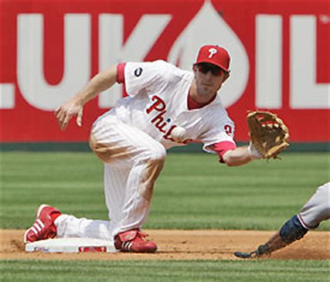 chase utley swing swing and a long drive january 2009