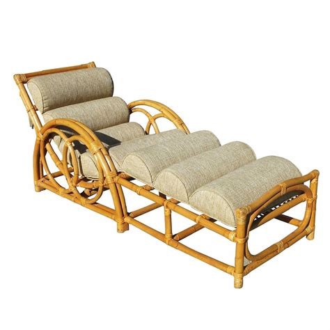 rattan chaise longue half moon rattan chaise longue chair