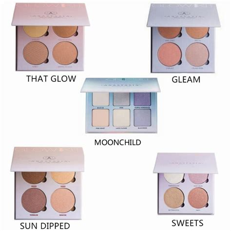 Bb Glow Kit new abh 5 styles glow kit highlighter makeup bronzer