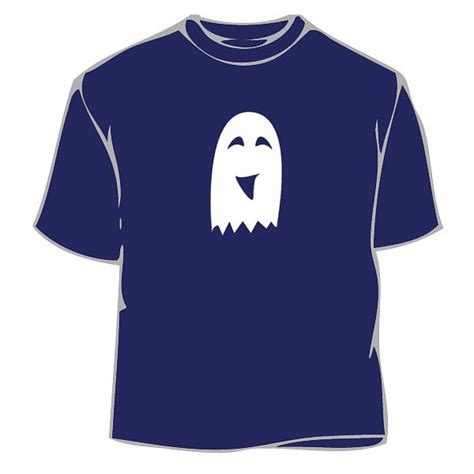 T Shirt The Gost ghost smiley t shirt ghosts tshirt novelty
