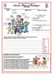 superlative worksheet 5 to